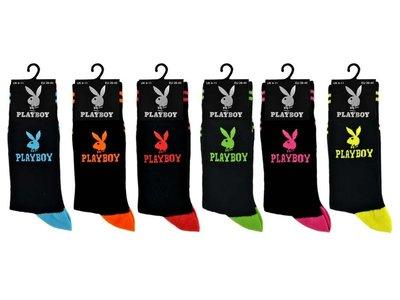 Playboy sokken, set van 6 paar verschillende